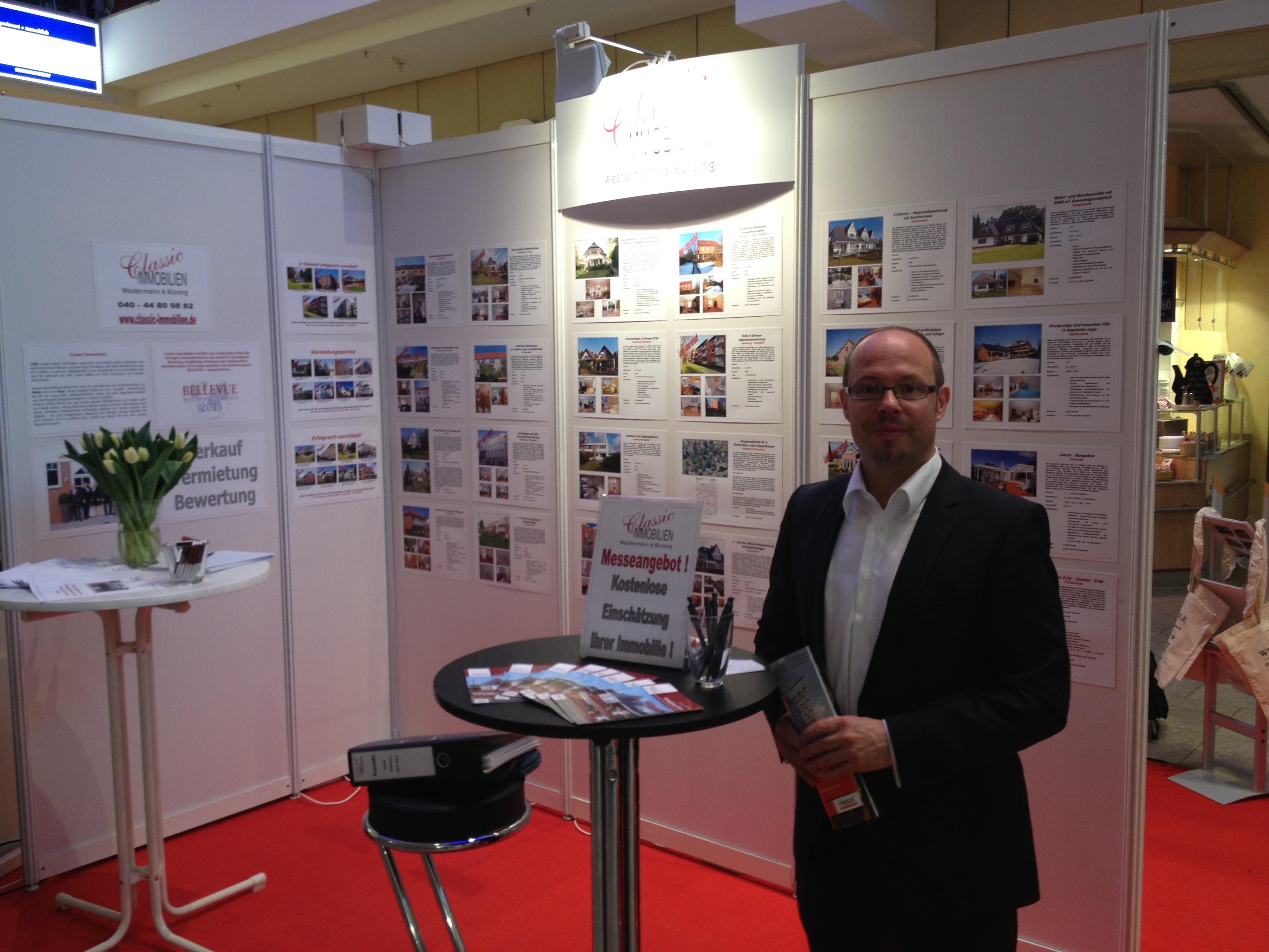 HASPA Immobilienmesse 2013 im Tibargcenter Niendorf