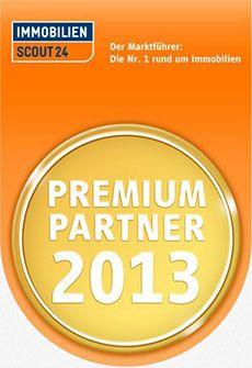 Immobilienscout 24  –        PREMIUM PARTNER 2013
