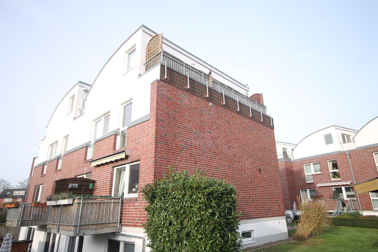 Moderne 2 Zimmer –Maisonette – Wohnung mit Penthousecharakter