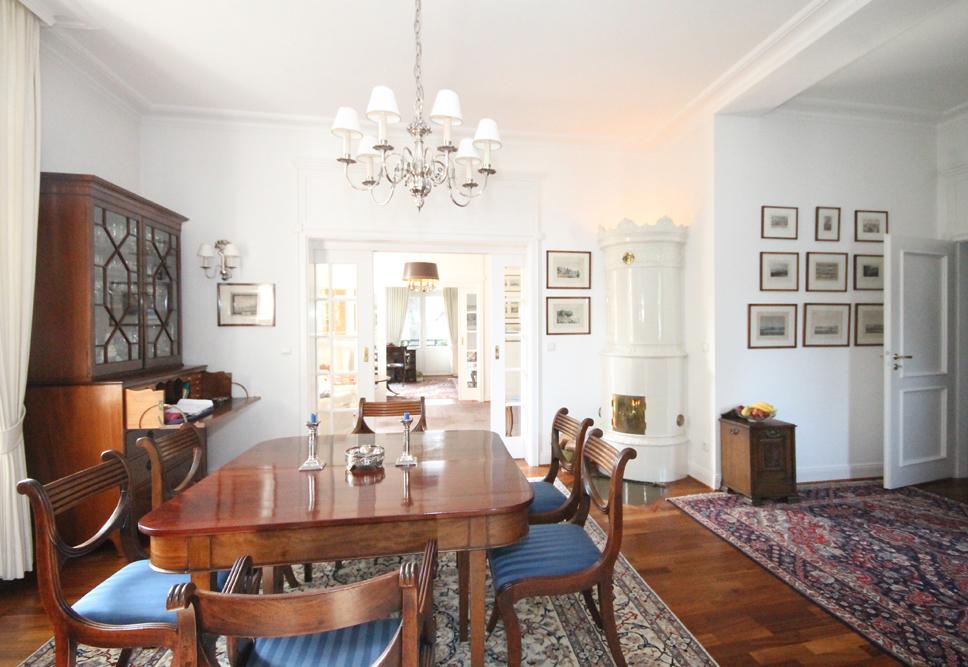 othmarschen klein flottbek exklusive und stilvolle villenetage in ruhiger und traumhafter lage. Black Bedroom Furniture Sets. Home Design Ideas