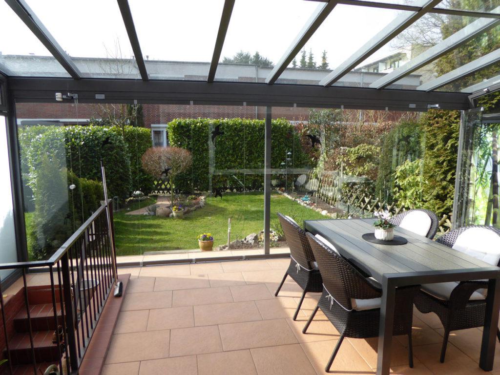 Iserbrook liebevoll gestaltetes modernisiertes reihenhaus an den feldern classic immobilien - Wintergarten reihenhaus ...