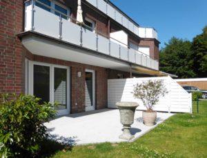 Halstenbek: Exklusive 3 Zimmer Erdgeschosswohnung mit Terrasse