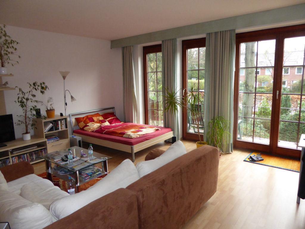 blankenese sch nes 1 zimmer apartment in blankenese. Black Bedroom Furniture Sets. Home Design Ideas