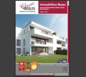 Unsere Immobilien News 2016 für den Hamburger Westen, Norden und den Kreis Pinneberg sind da!