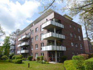 Halstenbek: 2 ½-Zimmer-Erdgeschosswohnung im Ortskern