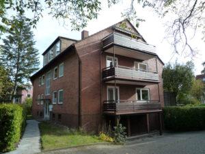 Rissen: 3 Zimmerwohnung mit zwei Balkonen