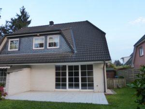 Pinneberg-Quellental: Familienfreundliche Doppelhaushälfte in ruhiger und exponierter Lage