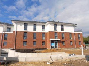 Borstel-Hohenraden: Neubau-Erstbezug – Exklusive 3 – Zimmer – Wohnung mit Westbalkon in ruhiger Lage