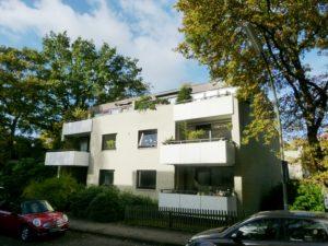 Blankenese: Sonniges 2-Zimmer Penthouse in gehobener Wohnlage