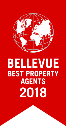 Qualitätssiegel: Bellevue Best Property Agent 2018