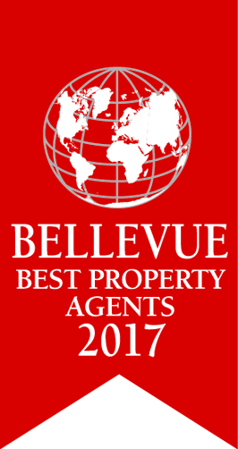 Qualitätssiegel: Bellevue Best Property Agent 2017