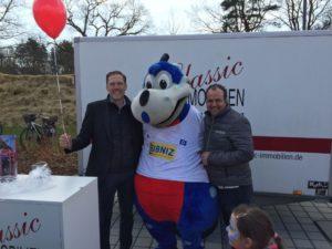 Rissen-Sportplatz-Eröffnungsfeier