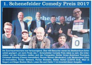 Comedy Finale - Hamburger Abendblatt
