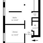 Halstenbek: Großzügige 3-Zimmer-Wohnung mit Sonnenbalkon