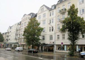 Hamburg – Harvestehude: Modernisierte 4 ½ Zimmer Jugendstilwohnung am Klosterstern
