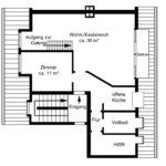 Hamburg-Hamm: Moderne 2 ½ Zimmer Galerie-Wohnung mit Weitblick gen Hamburger City