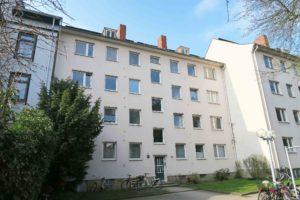 Kiel: Ruhig gelegene 2-Zimmer-Wohnung in zentraler Lage