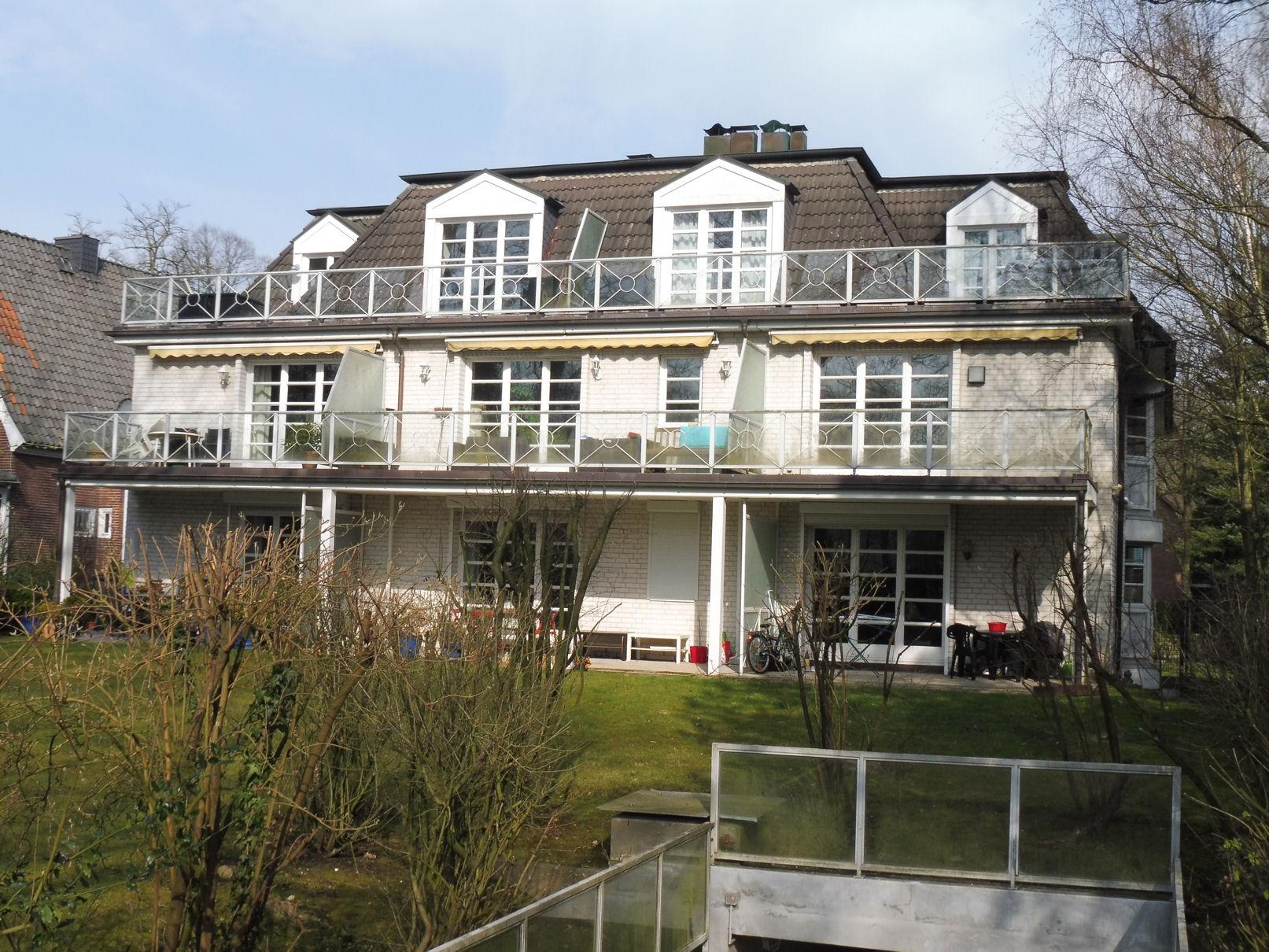 Hamburg-Marienthal: Gut vermietete 3-Zimmer Erdgeschosswohnung