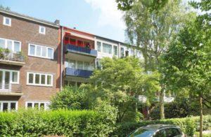 Hamburg-Ottensen: Lichtdurchflutete 3-Zimmer-Wohnung mit Blick ins Grüne