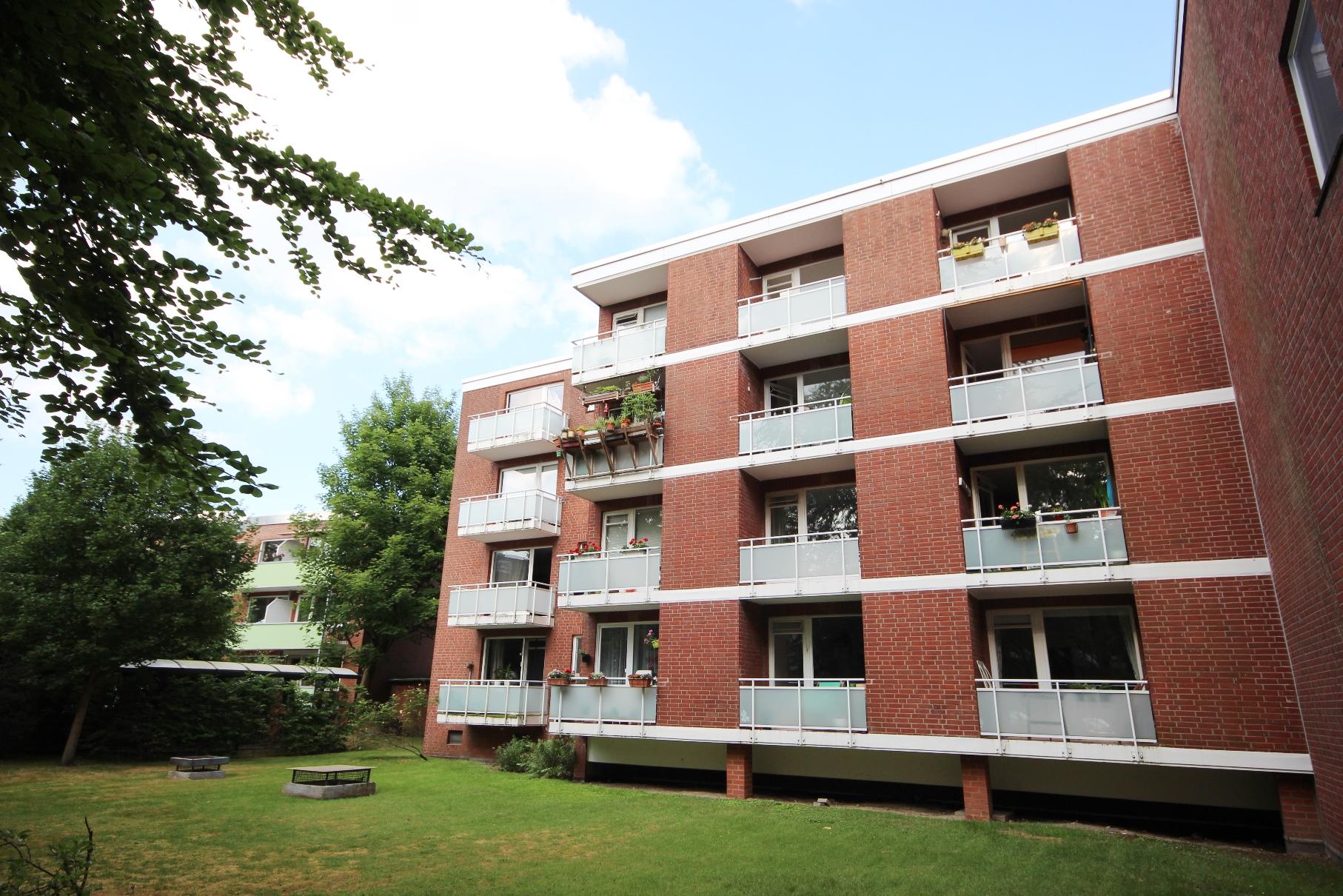HH-Bahrenfeld: Solide Kapitalanlage –  Vermietete 1 ½ Zimmer -ETW