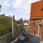 Schenefeld – Mitte: 3 ½ Zimmer – Maisonette – Wohnung  mit großem Dach-Balkon