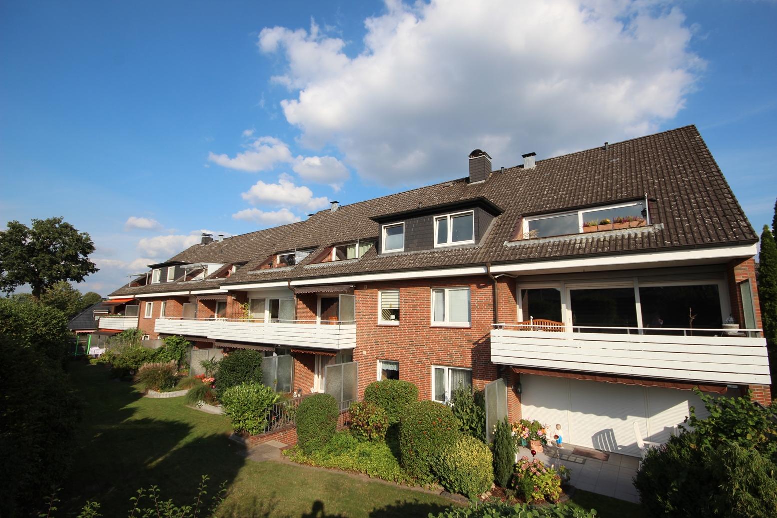 Schenefeld-Dorf: Gemütliche & gepflegte 2 ½ Zimmer – Dachgeschoss – ETW im Dorfkern